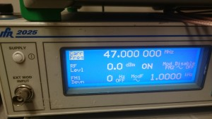 Signal Generator 47MHz