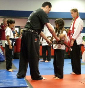 Sonia gets her senior brown belt